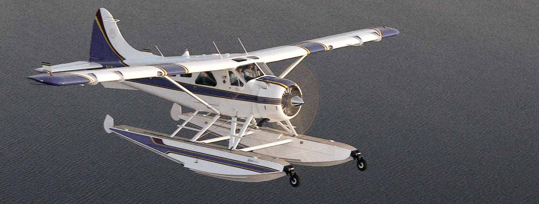 Seaplane over winnebago C300 Mkii