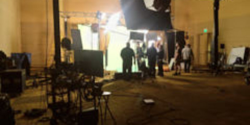 Aaron Rodgers Sing chroma key shoot