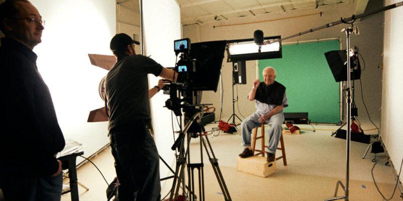 green screen studio shoot production GH5 C300