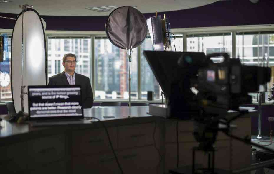 CEO streaming video teleprompter audio